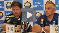 Stal Mielec - Sandecja 0-0, pomeczowa konferencja prasowa