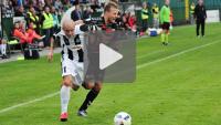 Sandecja - GKS Tychy 1-1 (1-0), skrót meczu