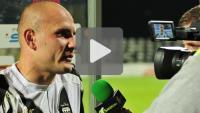 Sandecja - GKS Tychy 1-1 (1-0), Wojciech Trochim