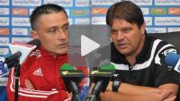 Sandecja - Śląsk Wrocław 1-2 pd. (1-1 ), Puchar Polski, konferencja