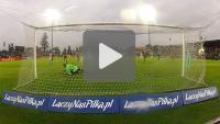 Sandecja - Śląsk Wrocław 1-2 pd. (1-1 ), Puchar Polski, skrót v2