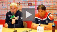 Zagłębie Sosnowiec - Sandecja 2-0 (2-0), konferencja prasowa