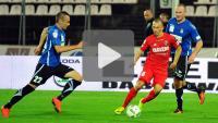 Zagłębie Sosnowiec - Sandecja 2-0 (2-0), skrót meczu
