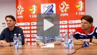 MKS Kluczbork - Sandecja 1-2 (0-1), pomeczowa konferencja