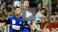MKS Kluczbork - Sandecja 1-2 (0-1), skrót meczu
