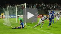 Sandecja - Wigry Suwałki 2-1, (1-1), skrót meczu