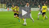 Sandecja - GKS Katowice 0-1 (0-1), skrót meczu
