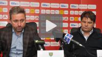 Sandecja - GKS Katowice 0-1 (0-1) konferencja prasowa