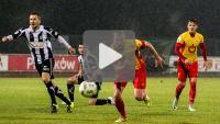 Znicz Pruszków - Sandecja 1-3 (1-1), skrót meczu