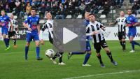 Sandecja - Podbeskidzie Bielsko-Biała 0-0, skrót meczu