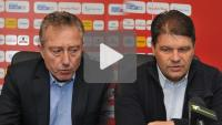 Sandecja - Mieddź Legnica 1-0 (1-0), pomeczowa konferencja