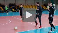 Marcin Dorna, trener Reprezentacji Polski U21 - trening pokazowy