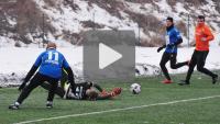 Sandecja - Kolejarz Stróże 3-1 (1-0), sparing