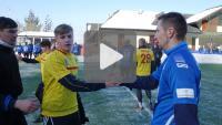 Podhale Nowy Targ - Sandecja 2-1 (0-1), skrót meczu