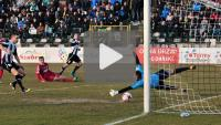Sandecja - Pogoń Siedlce 4-0 (1-0), skrót meczu