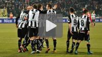 Sandecja - Zagłębie Sosnowiec 5-0 (2-0), mecz z innej perspektywy