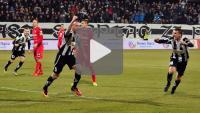 Sandecja - Zagłębie Sosnowiec 5-0 (2-0), skrót meczu