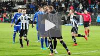 Sandecja - Stal Mielec 1-0 (0-0), skrót meczu