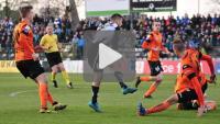 Sandecja - Chrobry Głogów 1-0 (1-0), skrót meczu