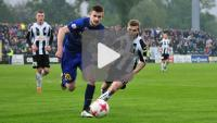 Sandecja - Stomil Olsztyn 2-1 (2-0), skrót meczu