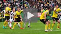 GKS Katowice - Sandecja 0-1, (0-0), skrót meczu