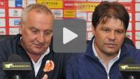 Sandecja - Znicz Pruszków 5-2 (2-1), pomeczowa konferencja