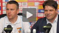 Sandecja - Wisła Puławy 0-0, pomeczowa konferencja
