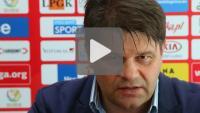 Miedź Legnica - Sandecja 2-0 (0-0), pomeczowa konferencja