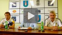Sandecja - Arka Gdynia, pomeczowa konferencja prasowa