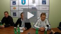 Sandecja - Polonia Bytom, pomeczowa konferencja prasowa