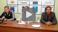 Sandecja - Piast Gliwice 4-0, pomeczowa konferencja prasowa