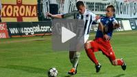 Sandecja - Piast Gliwice 4-0, skrót meczu