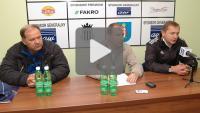 Sandecja - Floto Świnoujście 1-1, pomeczowa konferencja prasowa