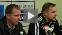 Sandecja - Zawisza Bydgoszcz 0-1, pomeczowa konferencja prasowa