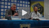 Arka Gdynia - Sandecja 2-0, pomeczowa konferencja prasowa
