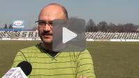Sandecja - Pogoń Szczecin, rozmowa z trenerem Sandecji