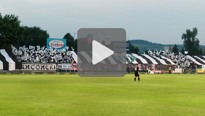Sandecja - GKS Katowice, oprawa meczu