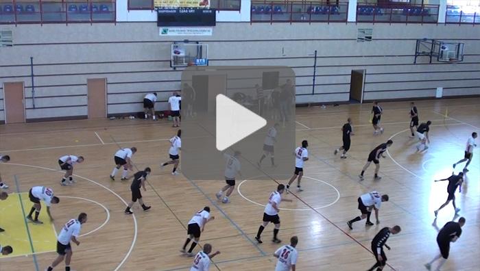 Pierwszy trening przed sezonem 2011/2012