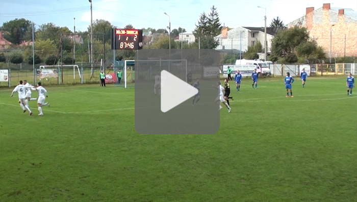 Dolcan Ząbki - Sandecja 1-2, bramki z meczu