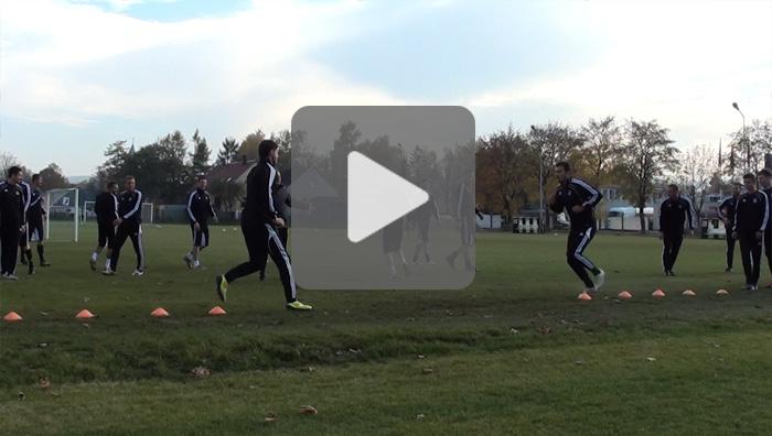 GKS Katowice - Sandecja, ostatni trening przed meczem