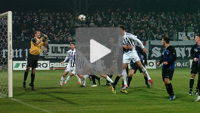 Sandecja - Zawisza Bydgoszcz 0-1, najciekawsze sytuacje