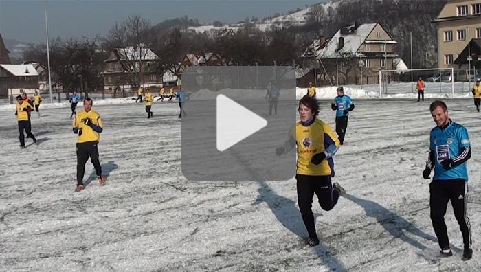 Sandecja - Limanovia 3-0, mecz sparingowy, sezon 2011/2012, bramki