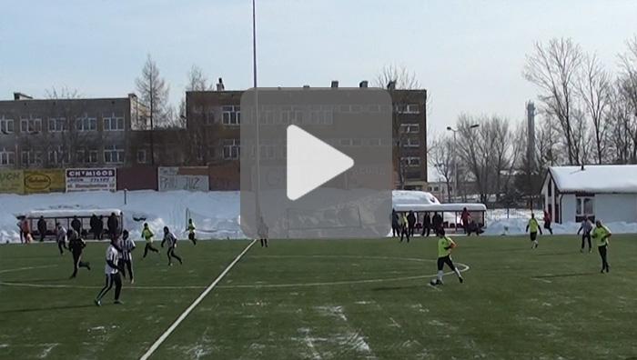 Resovia - Sandecja 0-3, mecz sparingowy, sezon 2011/2012, bramki