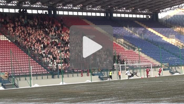 Wisła Kraków - Sandecja 3-1, sparing, sezon 2011/2012, bez komentarza
