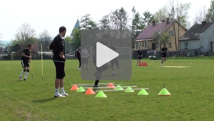 Trening przed meczem z Termaliką BrukBet Nieciecza